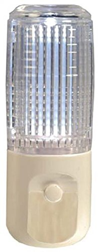 Photocell Night Light - AmerTac 73107 Cylinder Night Light, Multi-Color