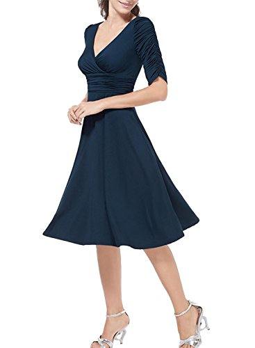 ACHICGIRL - Vestido - para mujer Azul