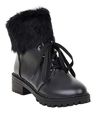 Amazon.com | CHFSO Women's Stylish Waterproof Faux Fur