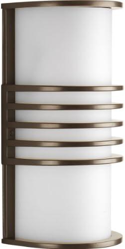 Progress Lighting P5914-20 1-Light ADA Wall Lantern, Antique Bronze