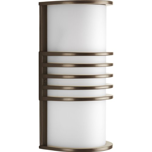 Progress Lighting P5914-20 1-Light ADA Wall Lantern, Antique Bronze