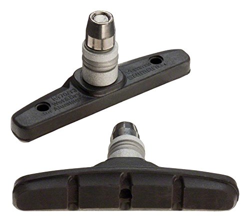 SHIMANO Deore/LX Bicycle V-Brake Pads - Pair - Y8BM9810A