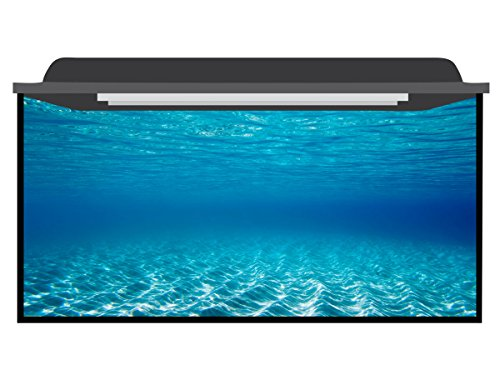 Deep Blue Themes Water Open Aquarium Background (66-120 Gallons (50Wx30H)) by Deep Blue Themes
