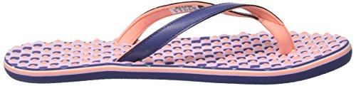 adidas Damen Eezay Dots W Zehentrenner Mehrfarbig (Raw Purple S16/sun Glow S16/purple Glow S16)
