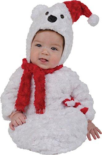 Christmas Polar Bear Bunting Baby Infant Costume - (Christmas Polar Bear Bunting)