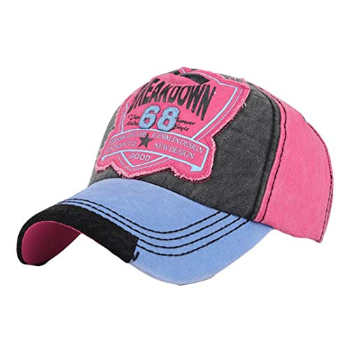 URIBAKE Fashion Women Men Adjustable Letters Embroidery Ventilation Hats Baseball Shade