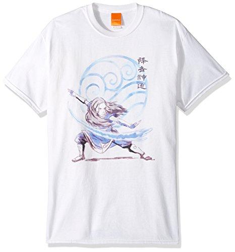 Nickelodeon Mens Katara T-Shirt,