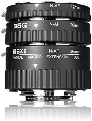 Meike MK-N-AF1-A Lente macro electrónica con autofoco, extensión ...