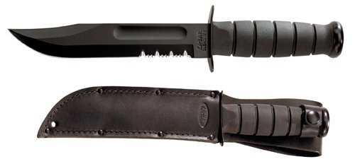 KA1214-BRK USA Fighting Knife - Knife Fighting Black Usa