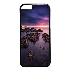 Sunset Personalized Design Black PC HTC One M8 Rock