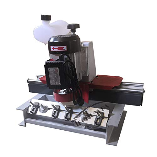 Intbuying Woodworking Straight Knife Sharpener Grinder Crusher Planer 110V 750W Max 400mm by INTBUYING