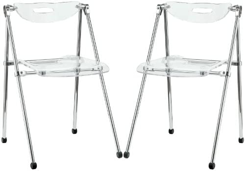 Amazon.com: lexmod Telescopio – Silla plegable: Kitchen & Dining
