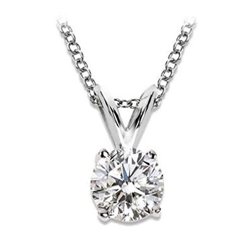 Diamant Collier Pendentif 1/4carat solitaire-premium qualité diamants