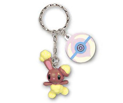 - Pokemon Buneary DP Mini Keychain with a ~1.75