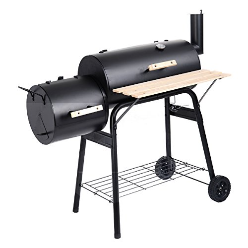 BBQ Grill Charcoal Barbecue Combo Size Pit Patio Backyard Meat Cooker Smoker - Parramatta Shop