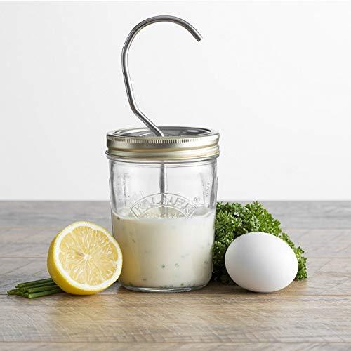Kilner Mayonnaise Maker/Sauce Jar Set