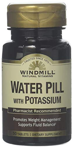 Water Pill TABS Potassium 50 product image