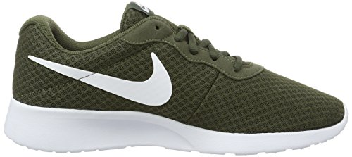 Comfortable Cushioning NIKE Tanjun Sneakers and Breathable Cargo Textile White Khaki Lightweight Men's Uppers FFwpZ0