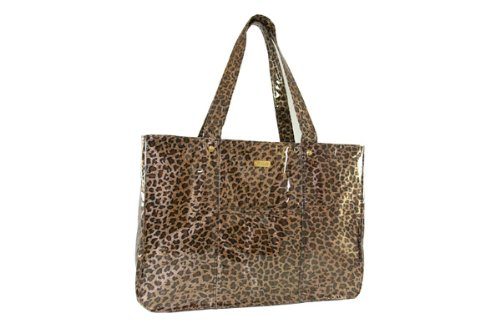PurseN Leopard Print Small Luxury Travel Tote, Bags Central