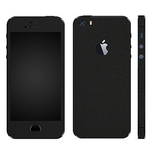 下位甲虫銀行wraplus for iPhoneSE & iPhone5S/5 [ブラックレザー] スキンシール