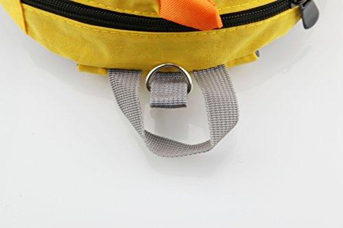 ZHUANNIAN Harness ZHUANNIAN Reins Backpack Blue Yellow Toddler Dinosaur Toddler Children ZWOBqS1