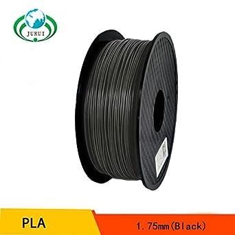 3d impresión filament Pla 1,75 mm Negro 1 Kg 3d filamento ...