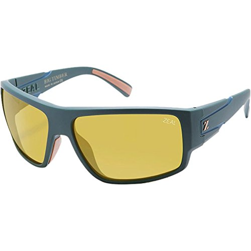 Zeal Optics Big Timber Sunglasses - Forest Green with Automatic - Zeals Sunglasses