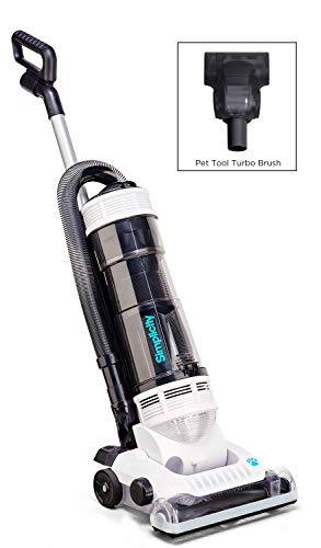 Simplicity Vacuums S20PET Pet Bagless Upright Vacuum Cleaner | Carpet and Rug | Pet Tool Included | 1-Year Warranty