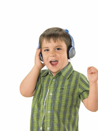 Price Headphones Fisher - Fisher-Price Kid-Tough Headphones Blue