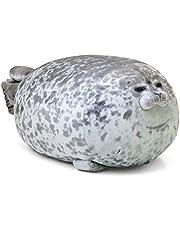 Mlamat Sea Animal Pillow, Sea Animal Pillow Blob Seal Pillow Cute Seal Stuffed Toy Cotton Plush Animal Cushion,Home Nursery Bedroom Sofa Car Décor Cushion Perfect Birthday For Girls