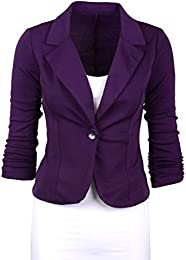 Amazon.com: Purple - Blazers / Suiting &amp Blazers: Clothing Shoes