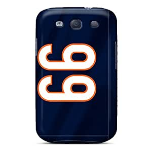 RMiVX16066wdTeV Tpu Phone Case With Fashionable Look For Galaxy S3 - Chicago Bears