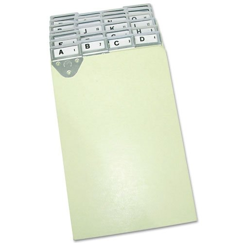Martin Yale 14522 Master Posting Tray Index Set, 8 1/2 x 11'', 25 Durable Pressboard Dividers, Includes A-Z Labels and Blank Inserts, Metal Tabs by Martin Yale