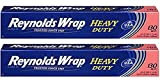 Wrap Heavy Duty Aluminum Foil, 130 Square Feet (Pack of 2), New