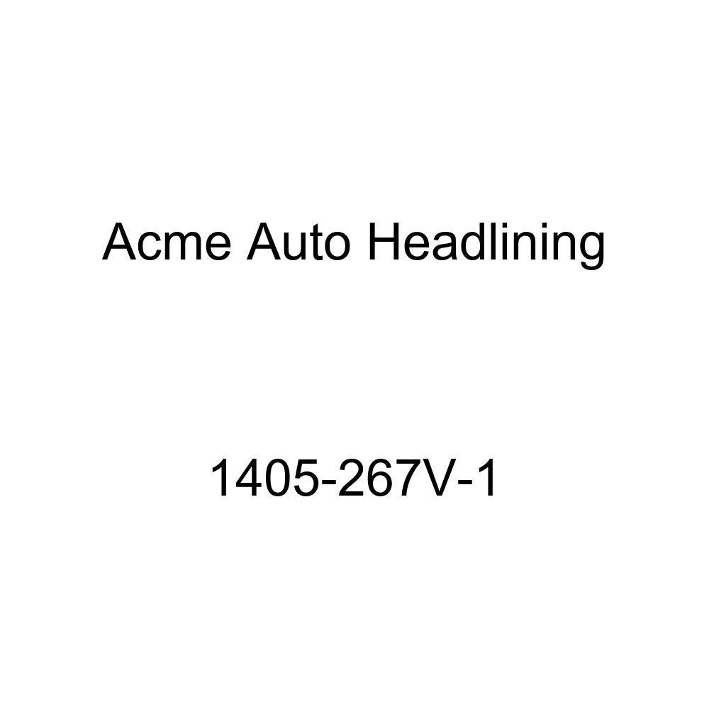 Acme Auto Headlining 1405-267V-1 Ivory Replacement Headliner 1936 Chevrolet Master Deluxe Truck 2 Door Coach Sedan 7 Bows