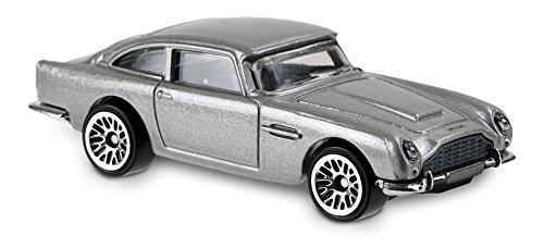 - Hot Wheels 2018 50th Anniversary HW Screen Time James Bond 007 Skyfall Aston Martin 1963 DBS 78/365, Silver