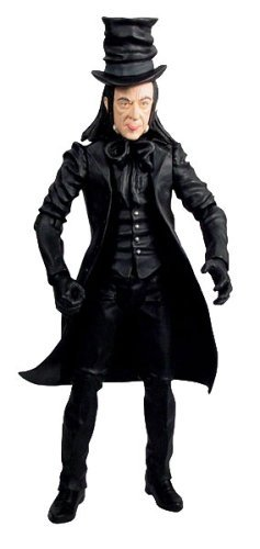 """Chitty Chitty Bang Bang 8"""" Deluxe Figure Child Catcher Black"""