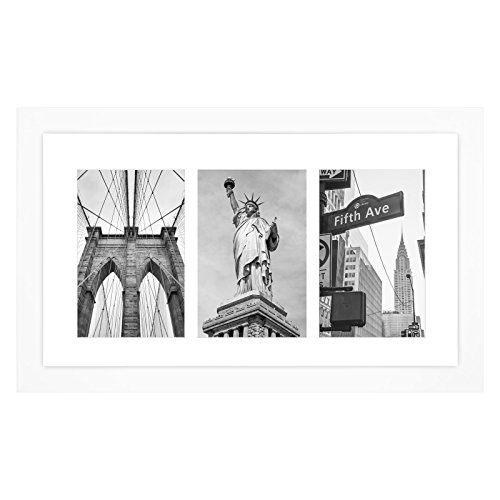 white collage picture frame