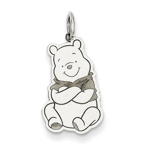 Or blanc 14 carats Charms Disney Winnie l'Ourson