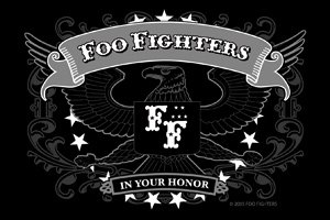 (C&D Visionary Foo Fighters Eagle Sticker (S-4664))