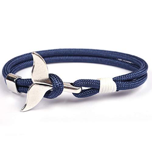 Rudder Design Men Bracelet Bangle Classic Vintage Daily Sport Sailing Leather Bracelet Jewelry
