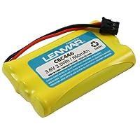 Batería de reemplazo Lenmar para Uniden BT-461, BT-446, BT-634, BT-909, BT-1004, BT-1005, BT-2499 se adapta a los teléfonos inalámbricos de la serie Uniden DCT, DCX, TCX, TRU