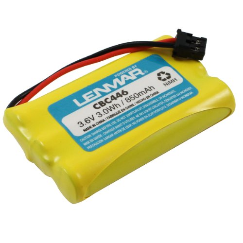 Lenmar Replacement battery for Uniden BT-461, BT-446, BT-634, BT-909, BT-1004, BT-1005, BT-2499 fits Uniden DCT, DCX, TCX, TRU Series Cordless Phones (Bt1004 Uniden Replacement Battery)