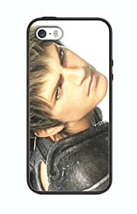 Case Cover Design Final Fantasy Game FF3 for Iphone 5 5s Border Rubber Silicone Case Black@pattayamart