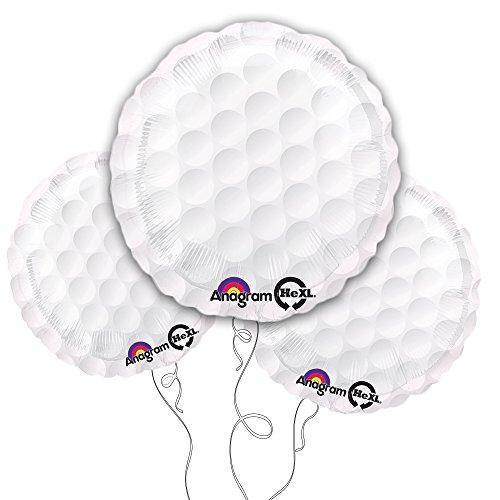 Golf Ball Balloons - Golf Ball 18