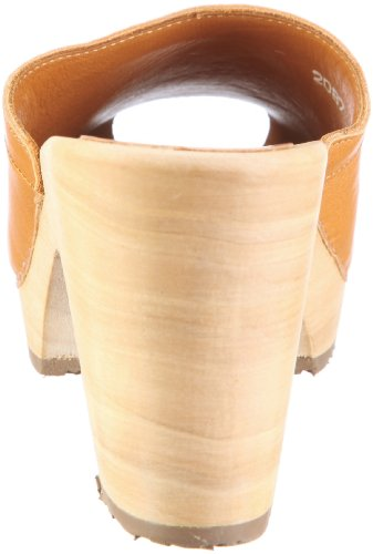39 mujer para 2091 Zuecos talla Swissoccoli marrón Holzsandalette color ntqRP5nH8W