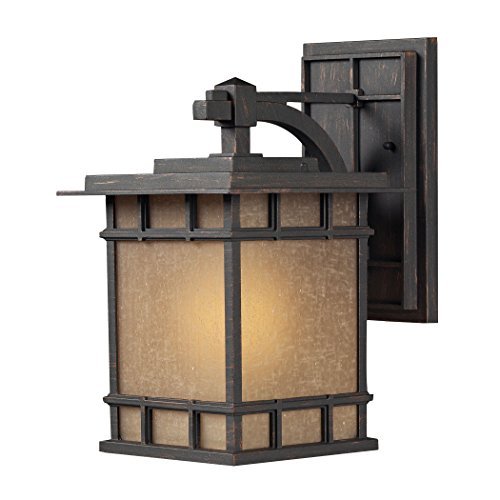 Alumbrada Collection Newlton 1 Light Outdoor Sconce In Weathered Charcoal ()