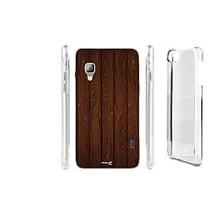 Carcasa Case Crystal centoventi efecto madera para LG Optimus L5II E460
