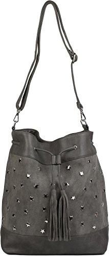 Bag Color With Shopping Bag Lady And Star Brown Bag Bag Brown Rivets Bag 02012187 Tassels Application Stylebreaker Shoulder Bucket Xl Handbag UnwpqvYt