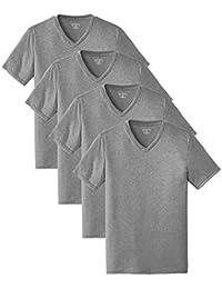 Men's Tri Blend V-Neck T-Shirt (Pack of 4)